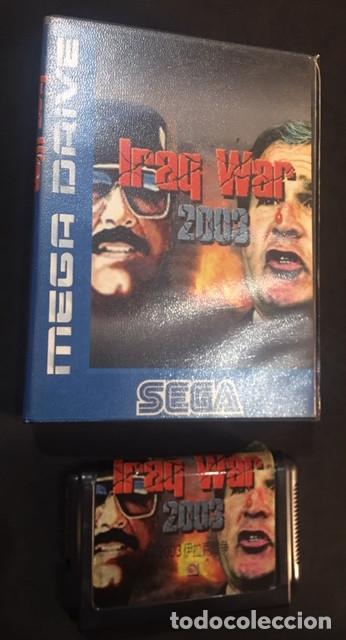 JUEGO PARA SEGA MEGA DRIVE MEGADRIVE IRAQ WAR 2003 (Juguetes - Videojuegos y Consolas - Sega - MegaDrive)