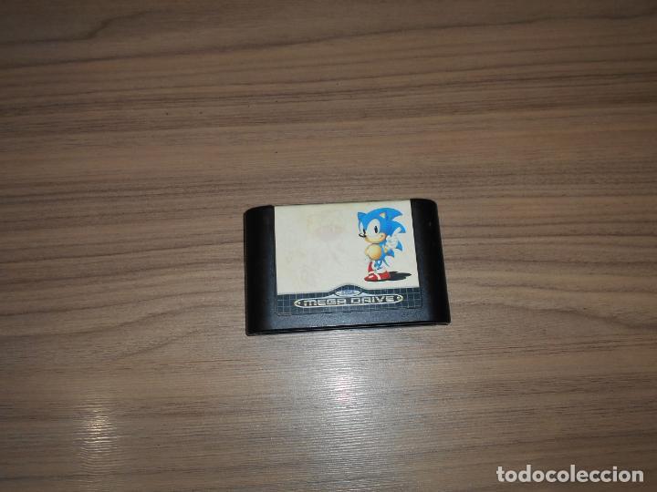 SONIC JUEGO SEGA MEGADRIVE PAL ESPAÑA MEGA DRIVE (Juguetes - Videojuegos y Consolas - Sega - MegaDrive)