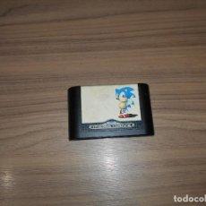 Videojuegos y Consolas: SONIC JUEGO SEGA MEGADRIVE PAL ESPAÑA MEGA DRIVE. Lote 201179840