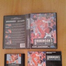 Videojuegos y Consolas: SEGA MEGA DRIVE DAVID ROBINSON SUPREME COURT BOXED COMPLETO CIB PAL R8118. Lote 135835206