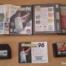 Videojuegos y Consolas: LOTE PACK SEGA MEGA DRIVE SAMPRAS TENNIS 96+AMAZING TENNIS BOXED CIB PAL R8171. Lote 136144446