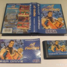 Videojuegos y Consolas: ART OF FIGHTING SEGA MEGADRIVE COMPLETO PAL-EUROPA MD. Lote 136673942