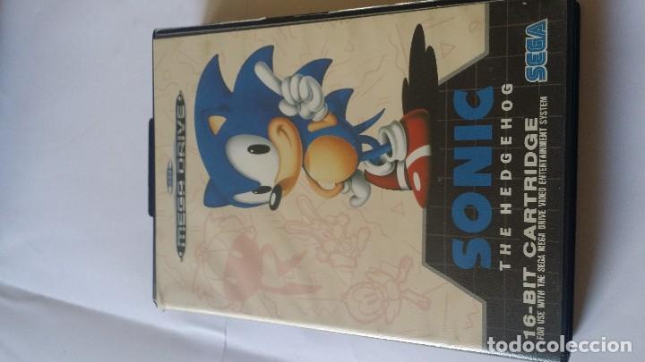 SONIC THE HEDGEHOG MEGA DRIVE (Juguetes - Videojuegos y Consolas - Sega - MegaDrive)