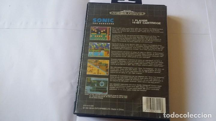 Videojuegos y Consolas: Sonic the hedgehog mega drive - Foto 3 - 137416698