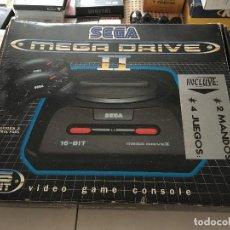Videojuegos y Consolas: CONSOLA EN CAJA 2 MANDOS 2/4 JUEGOS SEGA MEGADRIVE MEGA DRIVE 2 II KREATEN. Lote 137430454