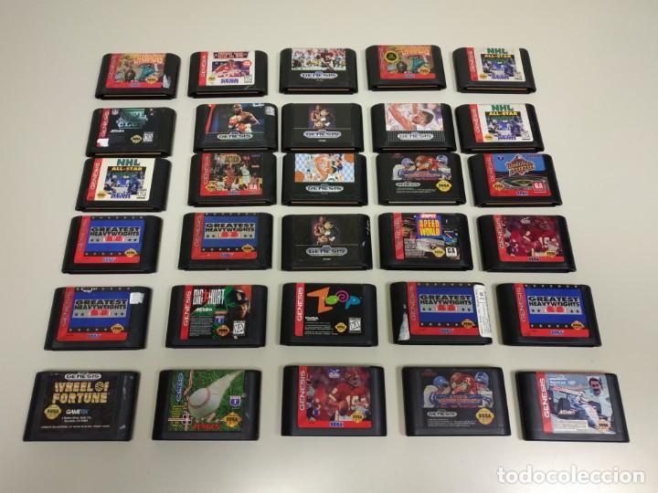 1018 Juegos Sega Genesis Escoger Juego En Fot Comprar