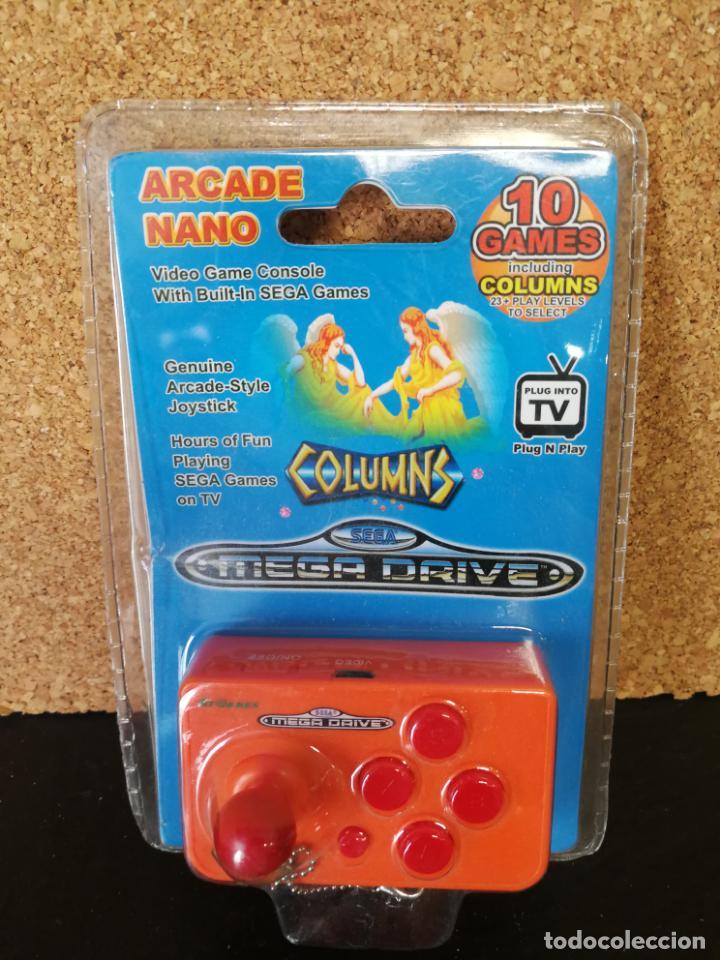 CONSOLA ARCADE NANO MEGA DRIVE COLUMNS (Juguetes - Videojuegos y Consolas - Sega - MegaDrive)