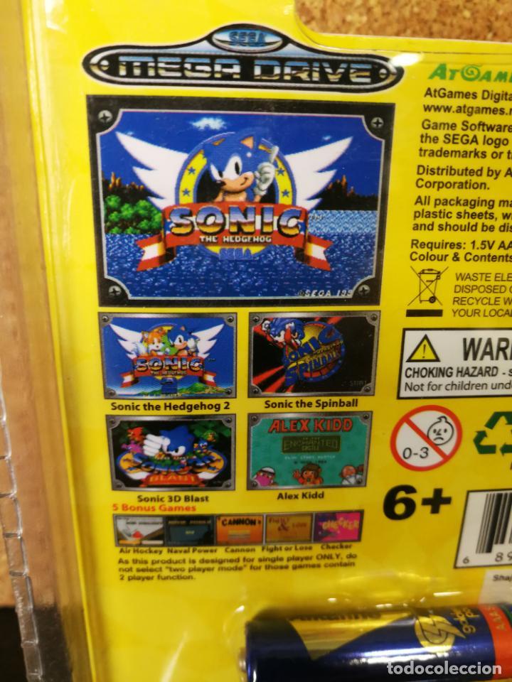 CONSOLA ARCADE NANO MEGA DRIVE SONIC (Juguetes - Videojuegos y Consolas - Sega - MegaDrive)