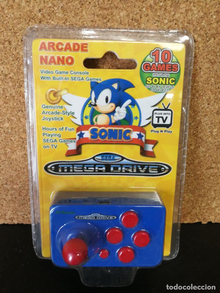 Videojuegos y Consolas: CONSOLA ARCADE NANO MEGA DRIVE SONIC - Foto 2 - 162006350