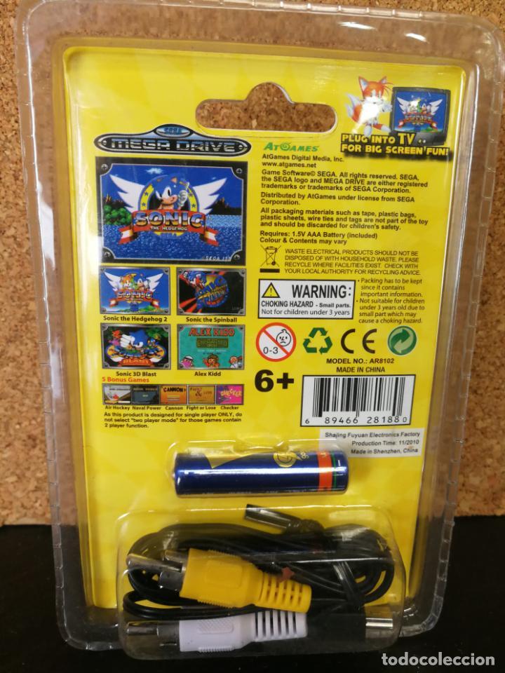 Videojuegos y Consolas: CONSOLA ARCADE NANO MEGA DRIVE SONIC - Foto 3 - 162006350