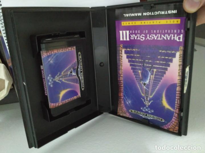 Videojuegos y Consolas: Phantasy Star III, de Megadrive. Rara edición asiática en inglés. - Foto 3 - 138569186