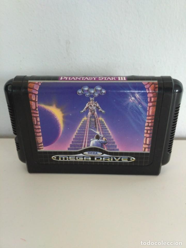 Videojuegos y Consolas: Phantasy Star III, de Megadrive. Rara edición asiática en inglés. - Foto 5 - 138569186
