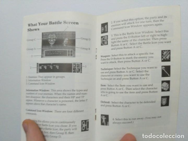 Videojuegos y Consolas: Phantasy Star III, de Megadrive. Rara edición asiática en inglés. - Foto 10 - 138569186
