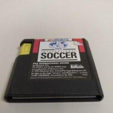 Videojuegos y Consolas: 1118- FIFA INTERNATIONAL SOCCER SEGA GENESIS 1993 7255 USA . Lote 145098202