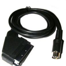 Videojuegos y Consolas: CABLE RGB SCART SEGA MEGADRIVE 1 / MASTER SYSTEM 1 NUEVO. Lote 139589754