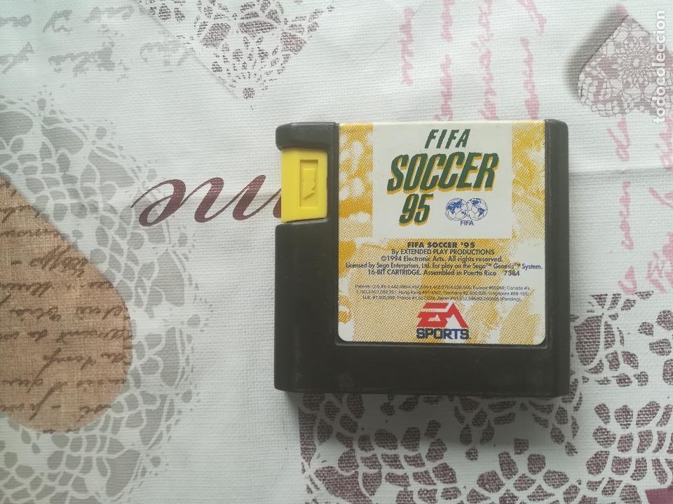 FIFA SOCCER 95 MEGADRIVE (Juguetes - Videojuegos y Consolas - Sega - MegaDrive)