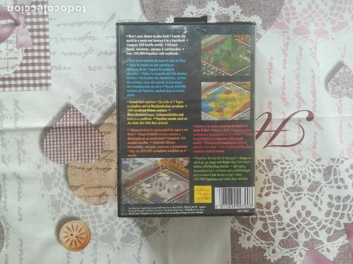 Videojuegos y Consolas: POPULOUS MEGADRIVE - Foto 3 - 140725142