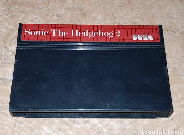 JUEGO SEGA SONIC THE HEDGEHOD 2 (Juguetes - Videojuegos y Consolas - Sega - MegaDrive)