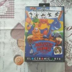 Videojuegos y Consolas: AQUATIC GAMES MEGADRIVE. Lote 140874870