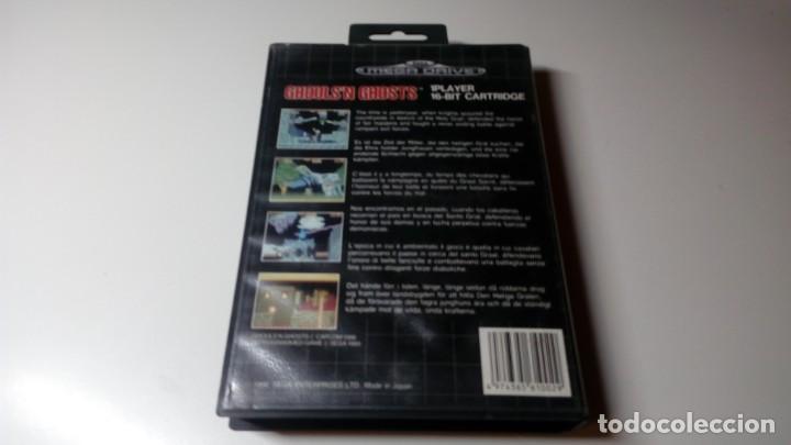 Videojuegos y Consolas: JUEGO GHOULS N' GHOSTS SEGA MEGADRIVE FUNCIONANDO PERFECTAMENTE - Foto 2 - 141612846