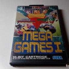 Videojuegos y Consolas: JUEGO MEGA GAMES I SEGA MEGADRIVE FUNCIONANDO PERFECTAMENTE. Lote 141612874