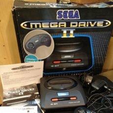 Videojuegos y Consolas: SEGA MEGADRIVE II COMPLETA + PACK 6 JUEGOS. Lote 141645572