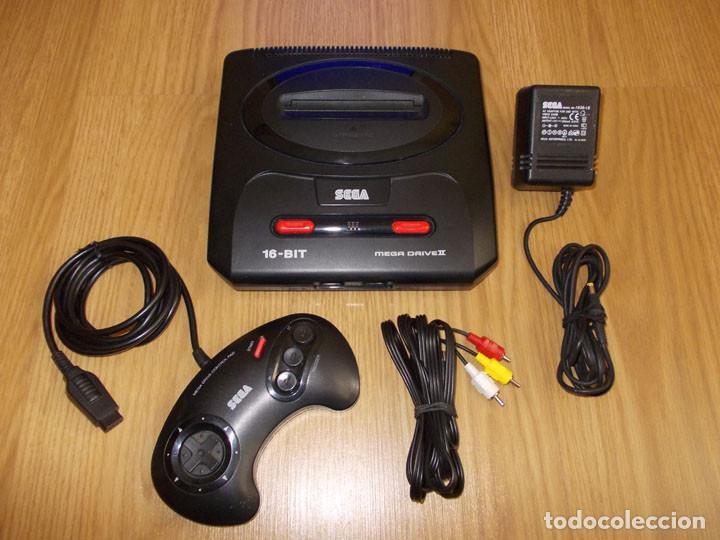 CONSOLA SEGA MEGADRIVE II 2 PAL - COMPLETA CON MANDO Y CABLEADO - FUNCIONA PERFECTAMENTE (Juguetes - Videojuegos y Consolas - Sega - MegaDrive)