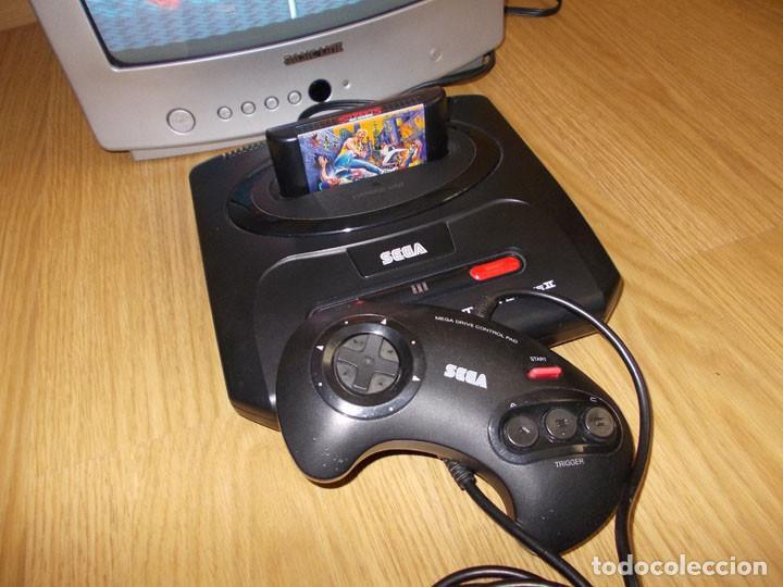 Videojuegos y Consolas: CONSOLA SEGA MEGADRIVE II 2 PAL - COMPLETA CON MANDO Y CABLEADO - FUNCIONA PERFECTAMENTE - Foto 4 - 141764630