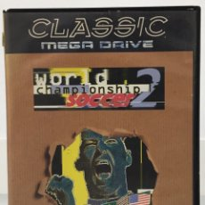 Videojuegos y Consolas: MEGA DRIVE CLASSIC WORLD CHAMPIONSHIP SOCCER 2 SIN MANUAL. Lote 142031046