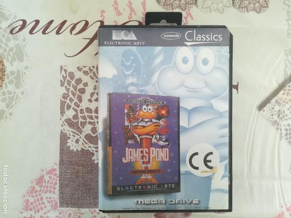 JAMES POND II MEGADRIVE (Juguetes - Videojuegos y Consolas - Sega - MegaDrive)