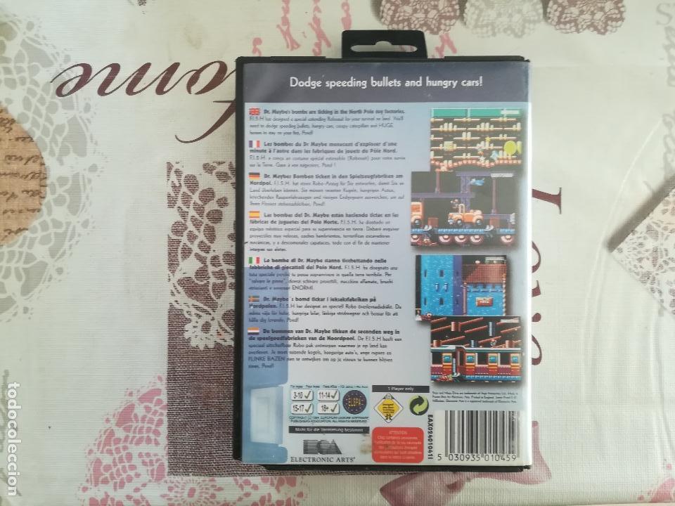 Videojuegos y Consolas: JAMES POND II MEGADRIVE - Foto 3 - 142103978