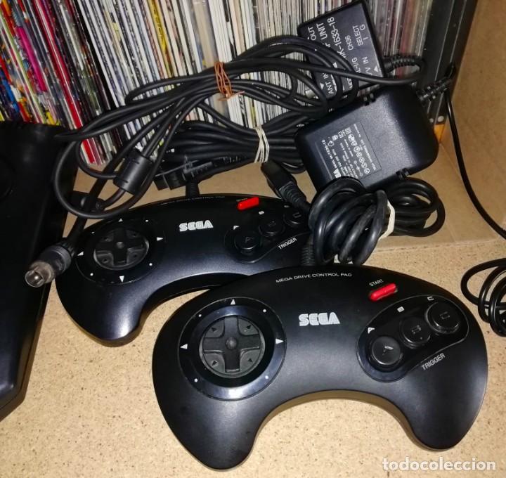 Videojuegos y Consolas: CONSOLA SEGA MEGADRIVE II - Foto 3 - 142391754