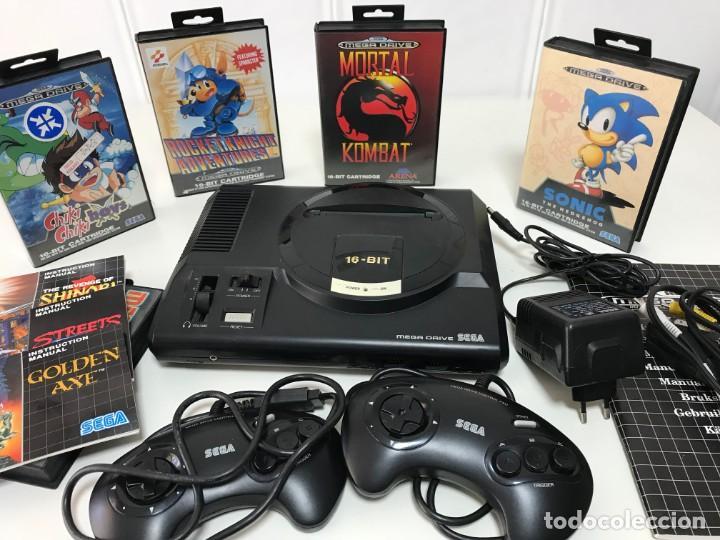 LOTE SEGA MEGADRIVE 1993 MÁS JUEGOS (Juguetes - Videojuegos y Consolas - Sega - MegaDrive)