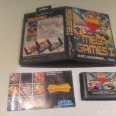 Videojuegos y Consolas: MEGA GAMES 1 SEGA MEGADRIVE PAL VERSION , FALTAN 2 MANUALES. Lote 143905250