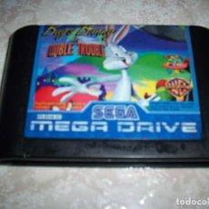 Videojuegos y Consolas: BUGS BUNNY DOUBLE TROUBLE MEGA DRIVE PAL MEGADRIVE SEGA WARNER 1996 LOONEY TUNES. Lote 144683606
