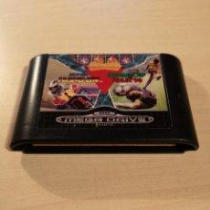 Videojuegos y Consolas: MEGA GAMES I   SUPER HANG-ON   WORLD CUP ITALIA `90   MEGA DRIVE  . Lote 145280958