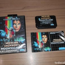 Videojuegos y Consolas: MICHAEL JACKSON'S MOONWALKER COMPLETO SEGA MEGADRIVE SEGA MEGA DRIVE. Lote 145545170