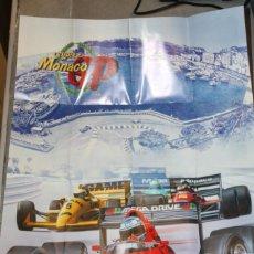 Videojuegos y Consolas: POSTER ORIGINAL SUPER MONACO GP SEGA MEGADRIVE. Lote 145938558