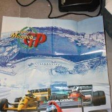 Videojuegos y Consolas: POSTER ORIGINAL SUPER MONACO GP SEGA MEGADRIVE. Lote 145938570