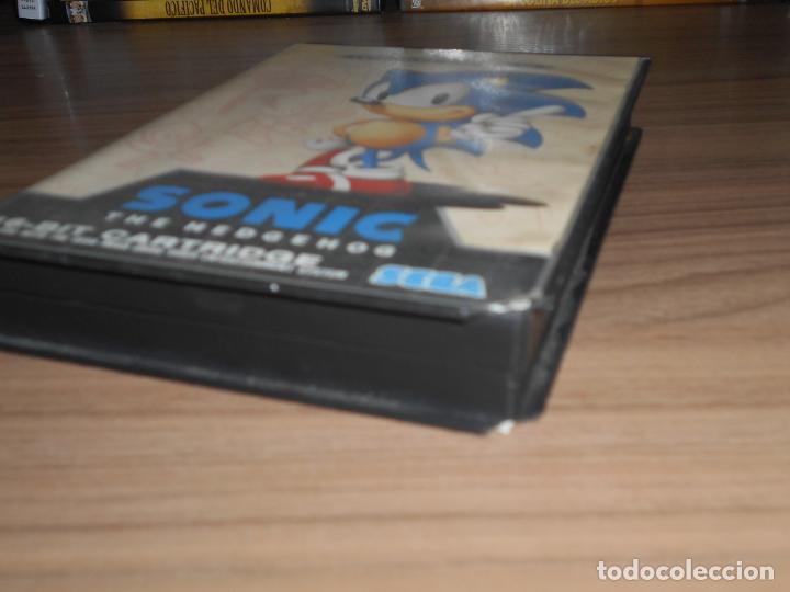 Videojuegos y Consolas: SONIC juego SEGA MEGADRIVE Pal España MEGA DRIVE - Foto 3 - 146229542