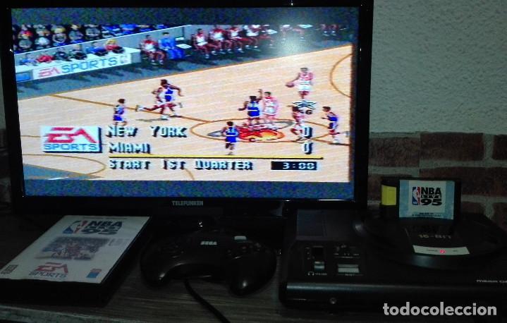 Videojuegos y Consolas: NBA Live 95 Sega Mega Drive - Foto 6 - 146584846
