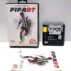 Videojuegos y Consolas: FIFA 97 SEGA MEGA DRIVE. Lote 146946170