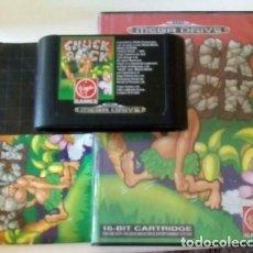 Videojuegos y Consolas: CHUCK ROCK SEGA MEGADRIVE. Lote 147402614