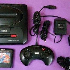 Videojuegos y Consolas: CONSOLA SEGA MEGA DRIVE II 16 BIT COMO LAS FOTOS. Lote 147472989