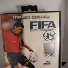 Videojuegos y Consolas: FIFA 98 SEGA MEGADRIVE COMPLETO NUEVO A ESTRENAR. Lote 147594126