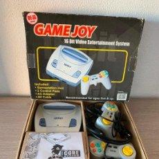 Videojuegos y Consolas: GAMEJOY CONSOLA CLÓNICA DE LA SEGA MEGA DRIVE AÑOS 90 COMPLETA EN SU CAJA. Lote 147728050