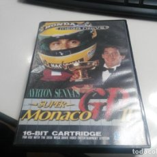 Videojuegos y Consolas: ANTIGUO JUEGO DE CONSOLA SEGA MEGADRIVE SUPER MONACO GP. Lote 147848406