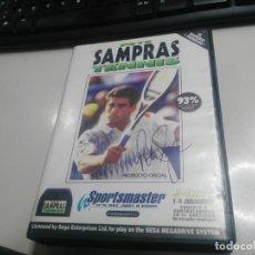 Videojuegos y Consolas: ANTIGUO JUEGO DE CONSOLA SEGA MEGADRIVE SAMPRAS . Lote 147849370