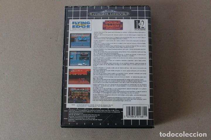 Videojuegos y Consolas: JUEGO SEGA MEGADRIVE MEGA DRIVE: DOUBLE DRAGON 3 THE ARCADE GAME --- SIN INSTRUCCIONES - Foto 3 - 147854878