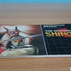 Videojuegos y Consolas: SHINOBI MANUAL SEGA MEGADRIVE. Lote 148635300
